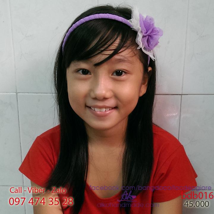Băng đô cài tóc cho bé gái xinh bdb016