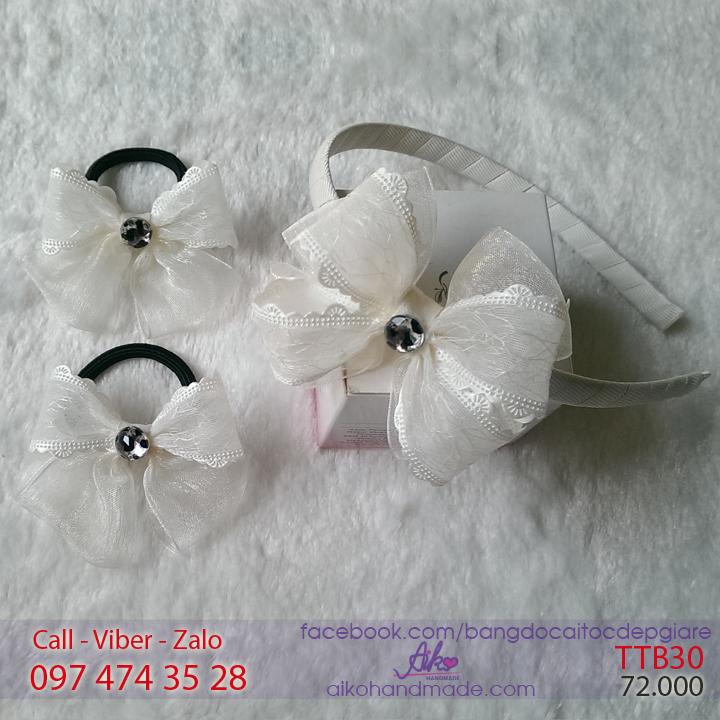 Bộ phụ kiện tóc công chúa cho bé gái TTB30