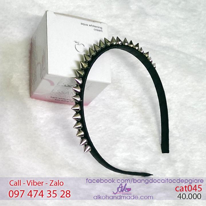 Cài tóc đinh tán gai nhọn cat045